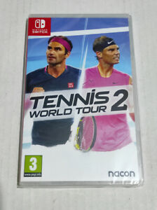 Tennis World Tour 2 Nintendo Switch PAL EU English French Chinese Sealed