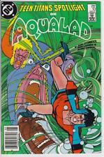 TEEN TITANS SPOTLIGHT  #10  - 1987.  AQUALAD