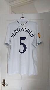 TOTTENHAM Hotspur Spurs Vertonghen Europa League Cup Home 2012/2013 Shirt Jersey