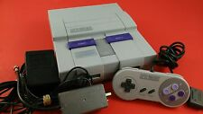 Super Nintendo SNES System Console [w/ Official Controller & Cables] Clean Works