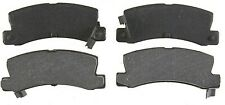 Rear Brake Pads 1987-1988 Toyota Corolla FX16