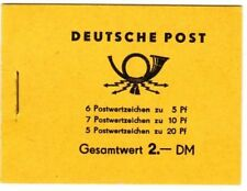 East Germany 1973 entire booklet Michel # 7 Mnh unexploded [dh