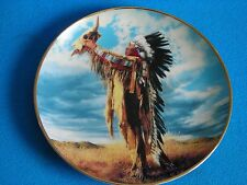 """American Heritage Museum """" Prayer To The Great """" Plate from The Franklin Mint"""