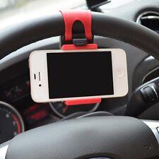Car Steering wheel Universal Mount Holder Halterungen Stand for Cell Phone GPS