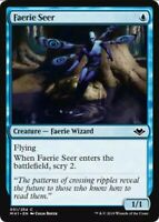 4x Faerie Seer Modern Horizons Playset mtg NM-M Magic the Gathering