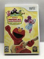 Sesame Street: Elmos Musical Monsterpiece (Nintendo Wii) Complete - Tested