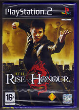 PS2 Rise to Honour (2004), UK Pal, Scanda Boxtext, New & Sony Factory Sealed