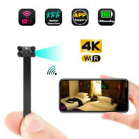 4K 1080PWireless WIFI DIY pinhole Spy Hidden Camera Mini video DVR Home Security