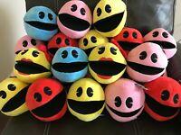 "Pac-Man Battle Royale Plush Toy Factory Doll Figure Pacman Arcade NWT 7"""