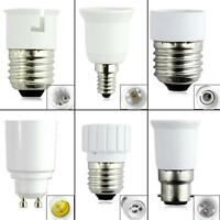 B22 GU10 E27 E14 Bulb Base Converter Light Socket Adaptor Extender Lamp Holder
