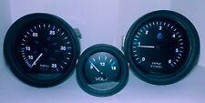 Vintage Teleflex - Speedometer - Tach and Voltage Boat Gauges