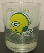 Green Bay Packers glass 25 years of Lambeau field