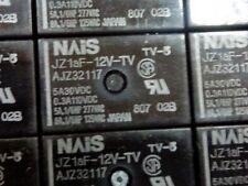 50pcs lot  JZ1aF-12V-TV    NAIS TV-5 Relay - New