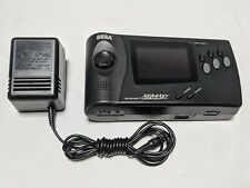 Sega Nomad System *TESTED & WORKS GREAT* + AC Adapter Genesis AUTHENTIC!