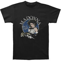 Fashion Madonna Pop Star Graphic Music Men T-Shirt Black