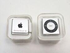 Lot 2 Apple iPod Shuffle 4th gen Clip A1373 2Gb Silver Md778Ll/A 2012 Heineken