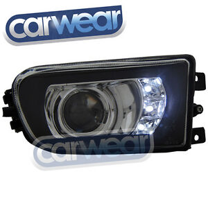 BMW E39 5-Series 96-00 Projector LED DRL Style Fog Lights 525i 530i 535i 540i