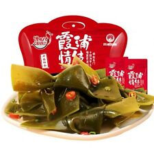 Spicy Kelp Piece Chinese Food Snack 馋嘴八 霞浦特产香辣香海带结680g大礼包 即食海带休闲网红零食