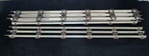"""NEW - Five (5) 18"""" Lengths K-Line 027 Track - NEW"""