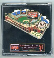Giants 2007 MLB All-Star Game Puzzle Pin Set San Francisco SF LE  #695/5,000