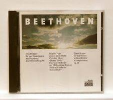 ROLAND BADER, BRIGITTE VOGEL - BEETHOVEN 3 hymns for 4 voices KOCH SCHWANN CD NM