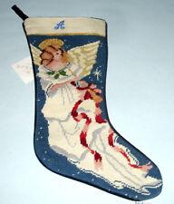 Mini Angel Stocking Needlepoint Patchwork Christmas Xmas Seasonal SK-811XS