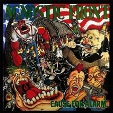 "Agnostic Front ""cause for Alarm"" CD re-release NUOVO"