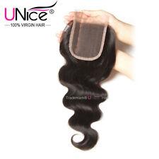 UNice Malaysian Human Hair Lace Closure Curly/Straight/Body Wave Virgin Hair US
