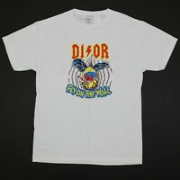 "Bleach Goods ""Dior Fly on the Wall"" Tour 85 Tee Mens Medium White Chinatown Hype"