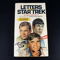 Letters to Star Trek by Susan Sackett w/ Photos Ballantine First Edition 1977