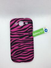 Samsung Galaxy S3 Hard Designer Phone Case Pink/Black