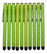 10x verde Stylus Touch Pen pedrería óptica Tablet celular atiende lápiz Glamour