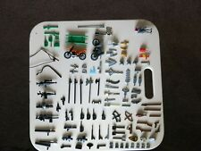 Assorted Lego weapons and items bundle. Job lot. Good Condition
