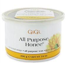 10 Cans of 14oz Gigi All Purpose Honee Wax Hair Removal 0330 Waxing