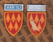 32nd Air Defense Artillery Cmd ADCOM AMF(L) Allied Mobile Forces Land patch set