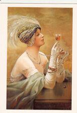 COGNAC carte postale reproduction affiche ancienne femme woman OTARD 1930