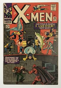 X-Men #20 Marvel Silver Age Nice Condition NO RESERVE Free Combined Shipping