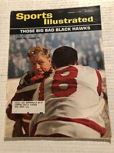 1964 Sports Illustrated CHICAGO BLACKHAWKS Bobby HULL Balfour MIKITA Pilote REAY