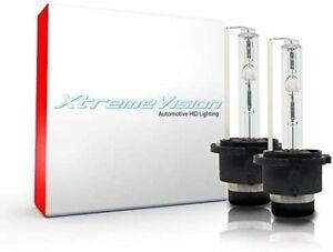 XtremeVision HID Xenon Bulbs - D4S / D4R / D4C - 8000K Medium Blue (1 Pair)