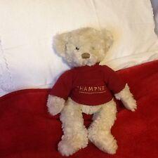 "13"" CHAMPNEYS RUSS BERRIE TEDDY BEAR"