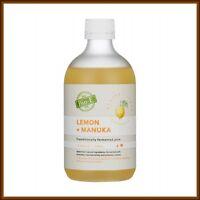 New packaging Bio E-Lemon Manuka Juice 500ml