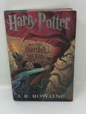 Harry Potter and the Chamber of Secrets HB/DJ 1st/1st True with Typo