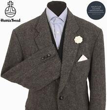 Harris Tweed Jacket Blazer 48R Country Weave Hacking Hunting Sports NICE COLOUR
