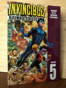 Invincible Ultimate Collection Vol 5 1st Printing 2010 HC Hardcover Sealed