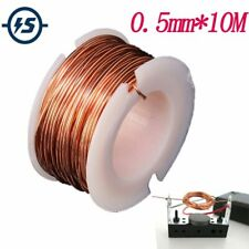 Wire Round Magnetic Enameled Copper Coil Winding Roll Electromagnet Motor 10m
