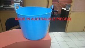 5 X 30 Litre Flexible Tub For Laundry and Storage