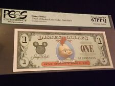 2005 $1  Chicken Little   Oakey Oaks Back    PCGS  67 PPQ