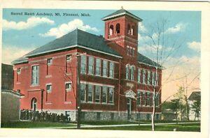 Mt Pleasant MI Sacred Heart Academy 1917