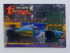1995 Futera Australian F1 Grand Prix Fastest Laps card #FL10 Michael Schumacher
