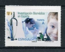 Spain 2018 MNH Biomedical Research in Spain 1v S/A Set Science Stamps